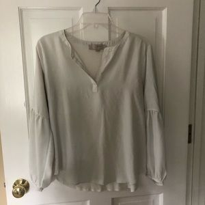 Cream colored blouse by loft